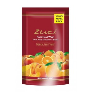 Buy Zuci Tropical Fruit Twist Hand Wash - Refill Pack - Nykaa