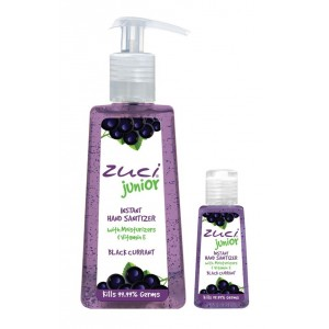 Buy Zuci Pack Of 250 ml & 30 ml Hand Sanitizer - Black Currant - Nykaa
