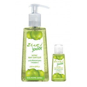 Buy Zuci Pack Of 250 ml & 30 ml Hand Sanitizer - Green Apple - Nykaa
