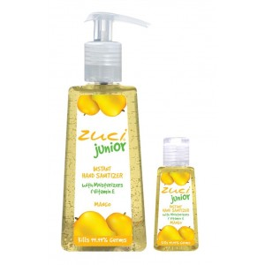 Buy Zuci Pack Of 250 ml & 30 ml Hand Sanitizer - Mango  - Nykaa