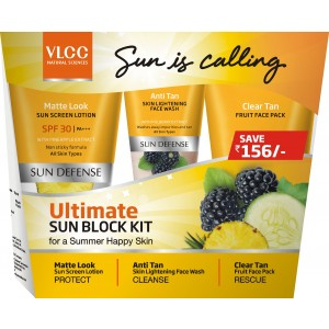 Buy VLCC Ultimate Sun Block Kit - Nykaa