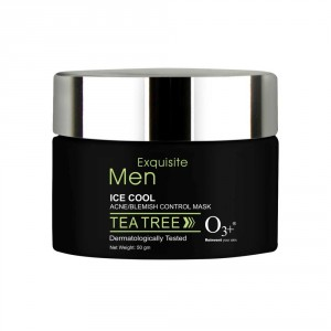 Buy O3+ Men Ice Cool Acne/Blemish Control Mask - Nykaa