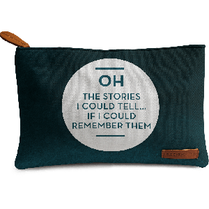 Buy DailyObjects Oh The Stories Carry-All Pouch Medium - Nykaa