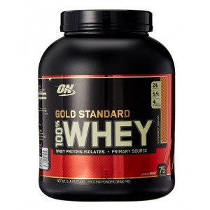 Buy Optimum Nutrition 100% Whey Gold Standard - Strawberry-Banana (5 Lbs) - Nykaa