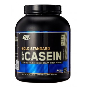Buy Optimum Nutrition 100% Gold Standard Casein Cookies and Cream (4lbs) - Nykaa