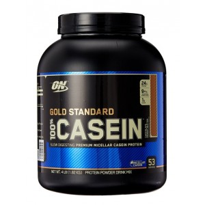 Buy Herbal Optimum Nutrition 100% Gold Standard Casein Chocolate Peanut Butter 4lbs - Nykaa