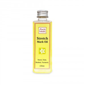 Buy Auravedic Stretch Mark Oil  - Nykaa