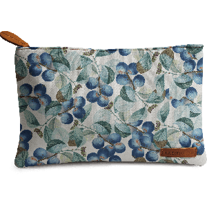 Buy DailyObjects Plum Pattern Carry-All Pouch Medium - Nykaa