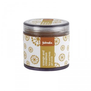 Buy Fabindia Orange Cinnamon Gel Scrub Body and Face  - Nykaa
