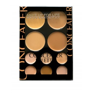 Buy Make Up For Life 10 Color Concealer Palette - Nykaa