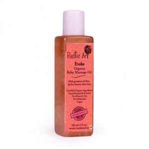 Buy Rustic Art Organic Baby Oil - Evoke  - Nykaa