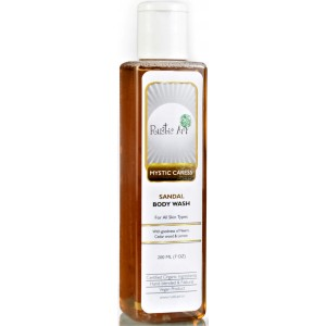 Buy Rustic Art Organic Sandal Body Wash - Nykaa