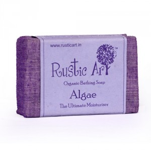Buy Rustic Art Organic Algae Soap - Nykaa