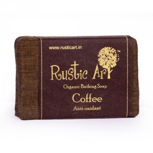 Buy Rustic Art Organic Coffee Soap - Nykaa