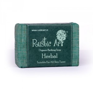 Buy Herbal Rustic Art Organic Herbal Soap - Nykaa