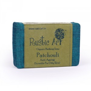 Buy Rustic Art Organic Patchouli Soap - Nykaa