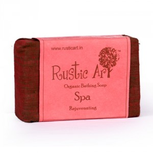 Buy Rustic Art Organic Spa Soap - Nykaa