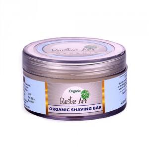Buy Rustic Art Organic Shaving Bar  - Nykaa