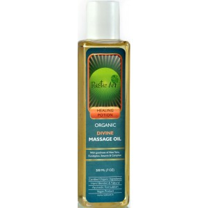 Buy Rustic Art Organic Divine Massage Oil  - Nykaa
