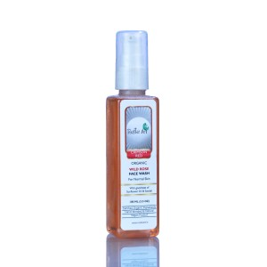 Buy Rustic Art Organic Rose Face Wash  - Nykaa