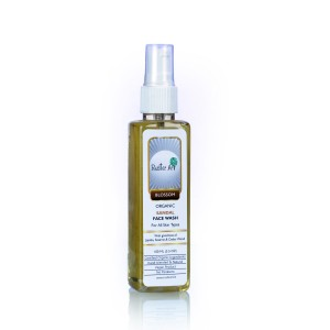 Buy Rustic Art Organic Sandal Face Wash  - Nykaa