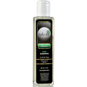 Buy Rustic Art Biodegradable Aloe Shampoo  - Nykaa