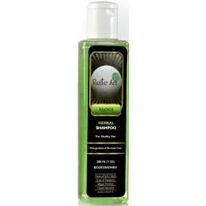 Buy Rustic Art Biodegradable Herbal Shampoo  - Nykaa
