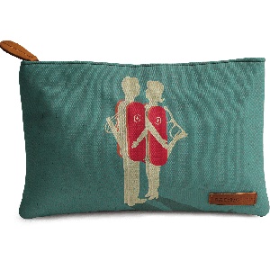 Buy DailyObjects Relationship Of Convenience Carry-All Pouch Medium - Nykaa