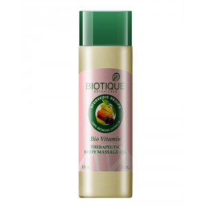 Buy Biotique Bio Vitamin Therapeuti Body Massage Oil - Nykaa