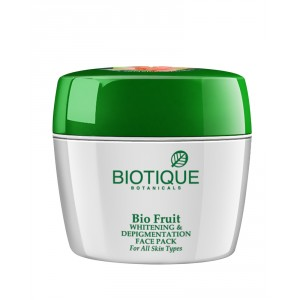 Buy Biotique Bio Fruit Flawless Whitening & Depingmentation Face Pack - Nykaa
