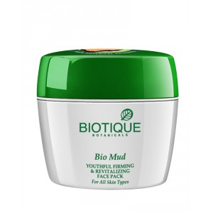 Buy Biotique Bio Mud Youthful Firming & Revitalizing Face Pack - Nykaa