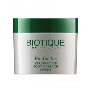 Buy Biotique Bio Costus Stress Relief Foot Massage Cream - Nykaa