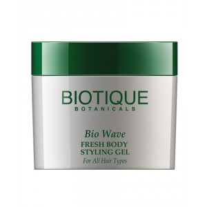 Buy Biotique Bio Wave Fresh Body Styling Gel Wet Set for All Hair Types - Nykaa