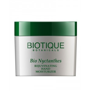 Buy Biotique Bio Nyctanthes Rejuvenating Hand Moisturizer - Nykaa