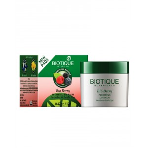 Buy Biotique Bio Berry Plumping Lip Balm Smoothes & Swells Lips - Nykaa