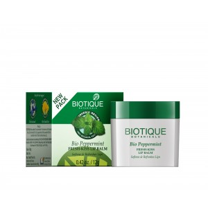 Buy Biotique Bio Peppermint Fresh - Kiss Lip Balm - Nykaa