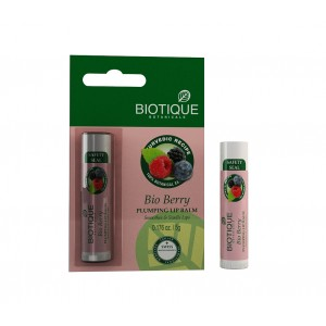 Buy Biotique Bio Berry Plumping Lip Balm - Nykaa