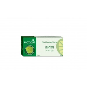 Buy Biotique Bio Morning Nectar Flawless Skin Soap - Nykaa