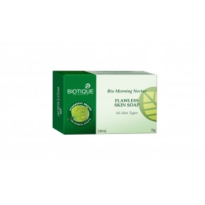 Buy Herbal Biotique Bio Morning Nectar Flawless Skin Soap - Nykaa