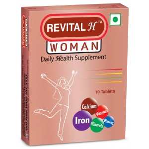 Buy Revital H Woman Daily Health Supplement - Nykaa