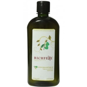 Buy Richfeel Brahmi Jaborandi Hair Oil - Nykaa