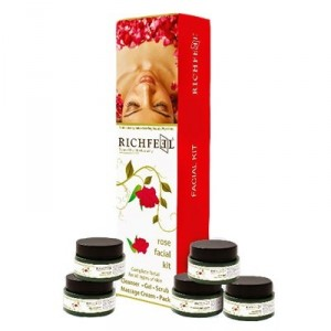 Buy Richfeel Rose Facial Kit - Nykaa