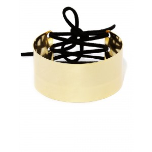 Buy Toniq Gold Crosslinked Cuff - Nykaa