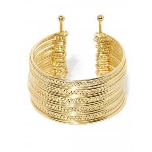 Buy Toniq Gold Bangle Cuff - Nykaa