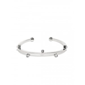 Buy Toniq Silver Srystal Cuff - Nykaa