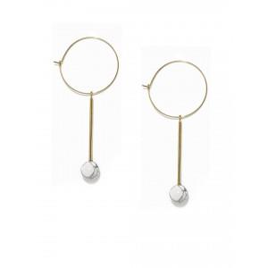 Buy Toniq Pearl Streaky Earring - Nykaa