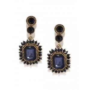 Buy Toniq Flower Drop Statement Earrings - Nykaa