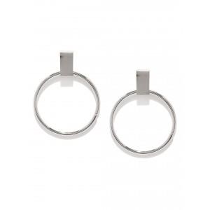 Buy Toniq Silver Vintage Queen Earring - Nykaa