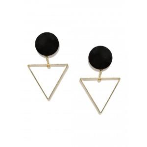 Buy Toniq Black Beau Earrings - Nykaa