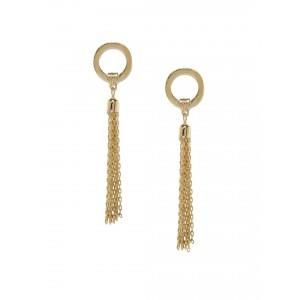 Buy Toniq Gold Toned Peachcrush Earrings - Nykaa